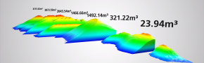 engineering consultancy 3d laserscanning volume calculation