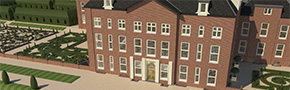 Paleis Het Loo - 3D Maquette Engineering Consultancy Coenradie